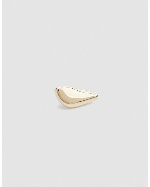 Faris - Metallic Single Left Cap Earring - Lyst