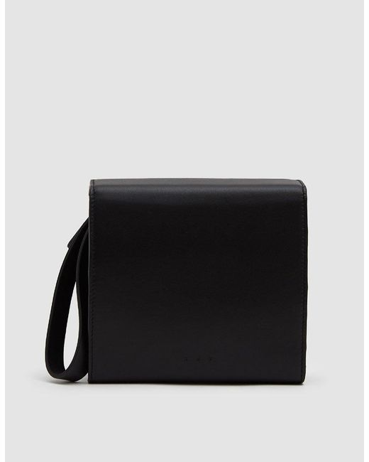 Aesther Ekme Black Women's Convertible Leather Pouch