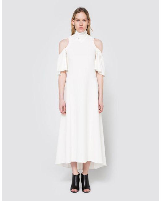 Ellery | White Deity Dress In Ivory | Lyst
