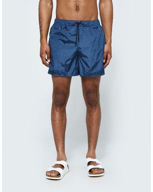 Acne | Perry Swimshort In Thunder Blue for Men | Lyst