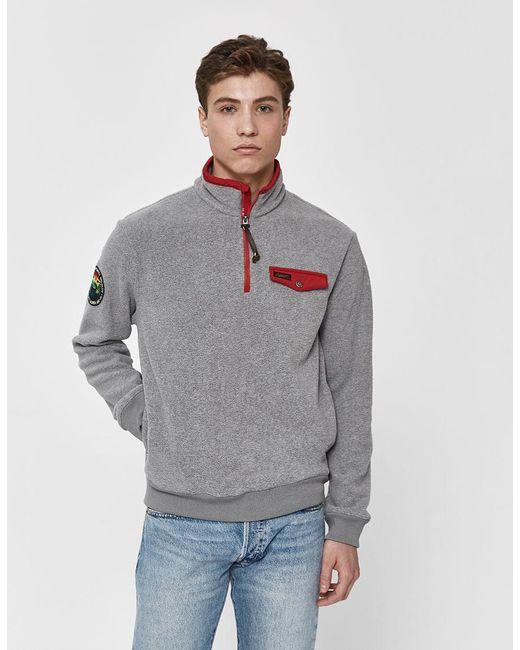 a57d1600 Polo Ralph Lauren - Gray Vintage Polar Fleece Pullover for Men - Lyst ...