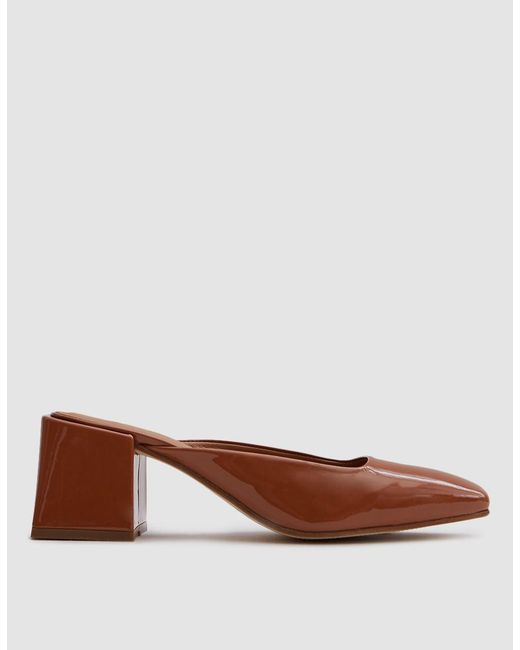 LOQ   Brown Vale Slide In Patent Martini   Lyst