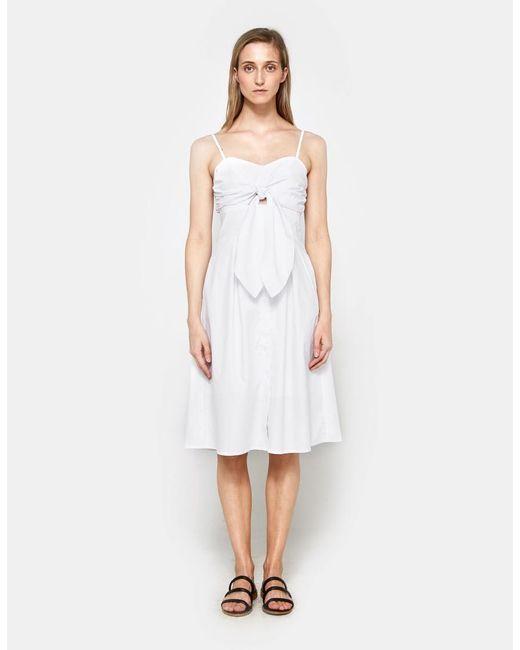 Farrow | Maida Dress In White | Lyst