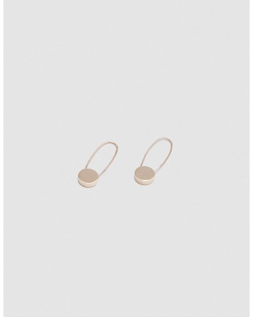 Loren Stewart | Metallic Circle Safety Pin Earrings | Lyst