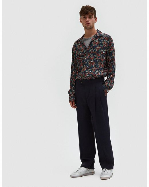Éditions MR | Multicolor Musketeer Shirt In Night for Men | Lyst