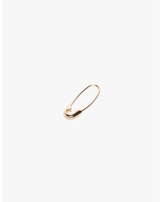 Loren Stewart - Metallic Single Safety Pin Earring - Lyst