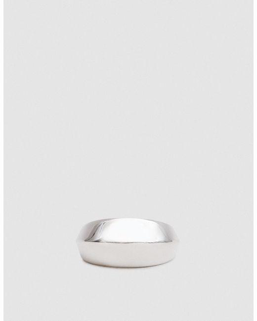 J. Hannah - Metallic Silver Peak Ring Ii - Lyst