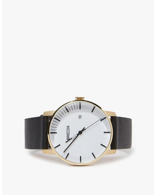 Breda - Multicolor Phase Watch - Gold/black - Lyst