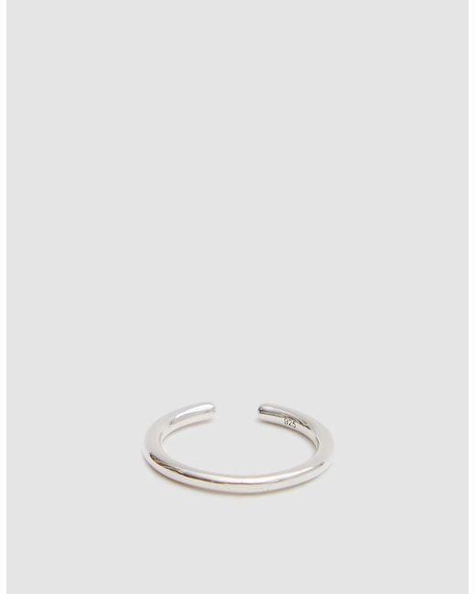 Saskia Diez - Metallic Single Silver Wire Ear Cuff - Lyst
