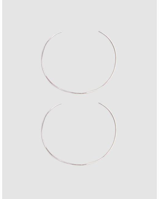 Loren Stewart | Metallic Set Of Two Sterling Silver Wire Cuffs | Lyst