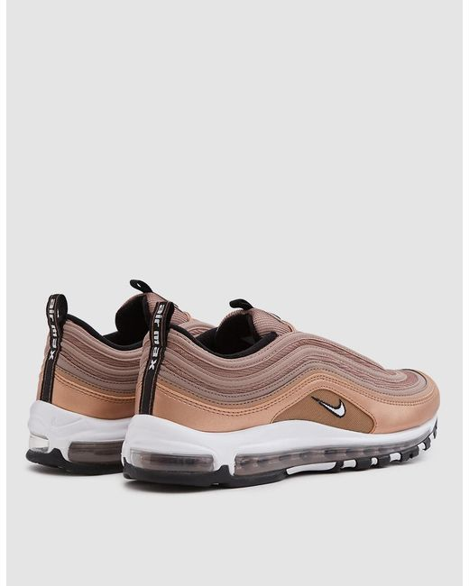 ... Nike - Multicolor Air Max 97 Shoe In Desert Dust/white-mtlc Red Bron ...