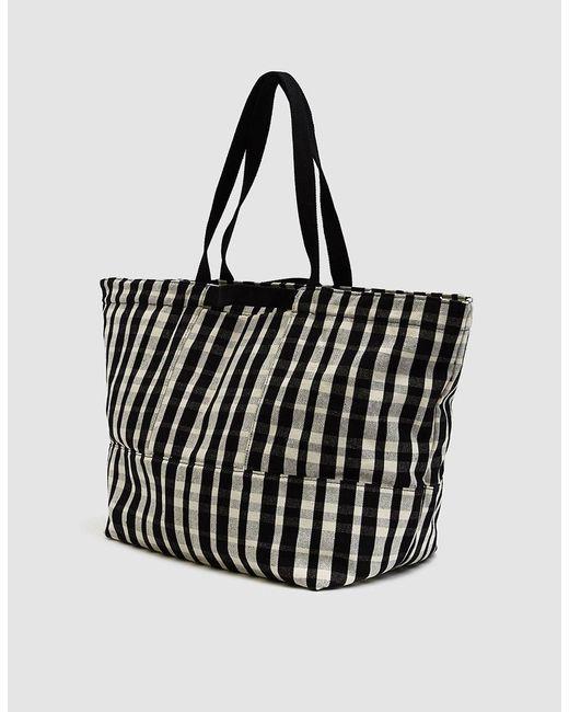 Baggu Black Canvas Weekend Bag Lyst