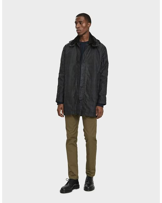 Norse Projects - Black Trondheim Waxed Cotton Parka for Men - Lyst