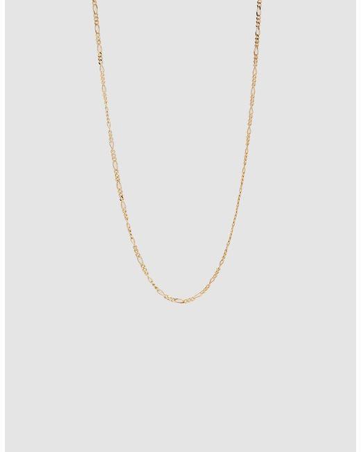 Loren Stewart - Metallic Figaro Gold Chain Necklace - Lyst