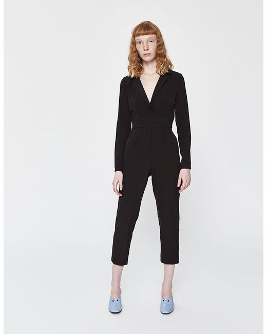 6e666d183c42 Stelen - Black Lisa Long Sleeve Jumpsuit - Lyst ...