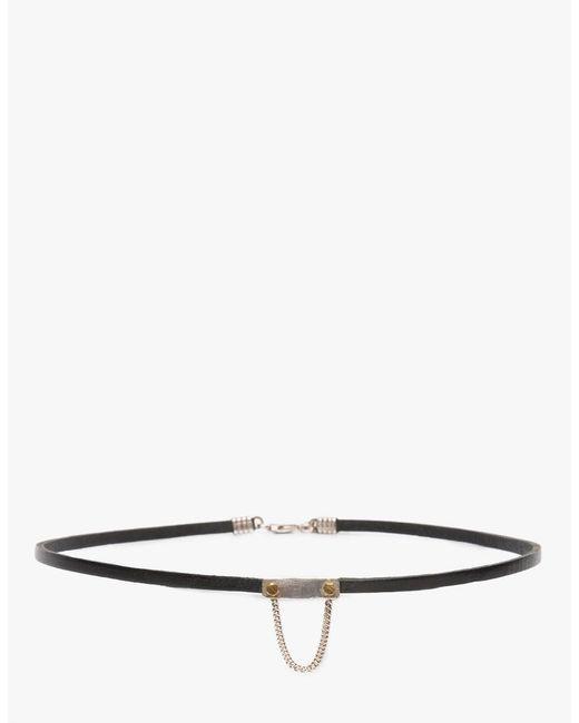 Open House - Black Cinch Choker Necklace - Lyst