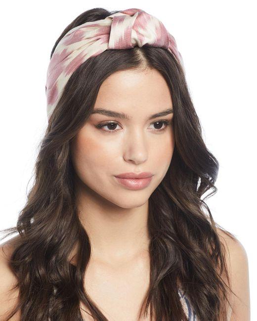 Jennifer Behr - Brown Marin Silk Turban Headband - Lyst