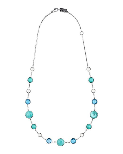 "Ippolita Metallic Lollitini Sterling Silver Necklace, 16"""