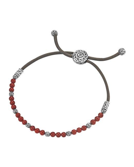 John Hardy | Pink Coral Bead Bracelet | Lyst
