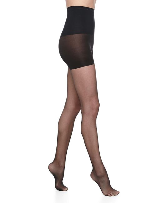 Commando - Natural Princess Sheer Control-top Tights - Lyst