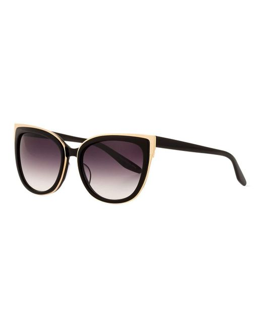 Barton Perreira   Black Winette Cat-eye Sunglasses   Lyst