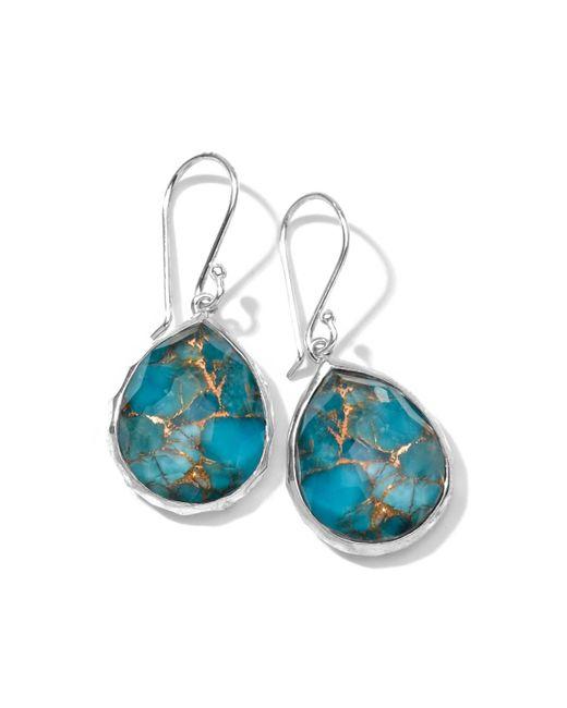 Ippolita | Metallic Wonderland Mini Turquoise Teardrop Earrings | Lyst
