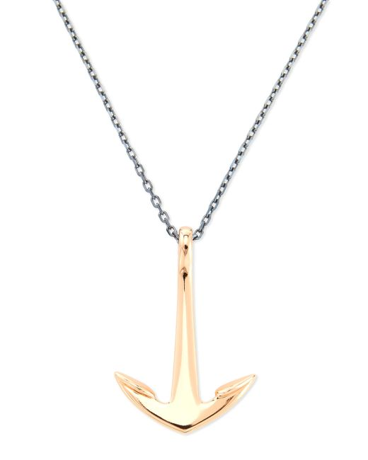 Miansai | Metallic Anchor Pendant Necklace for Men | Lyst