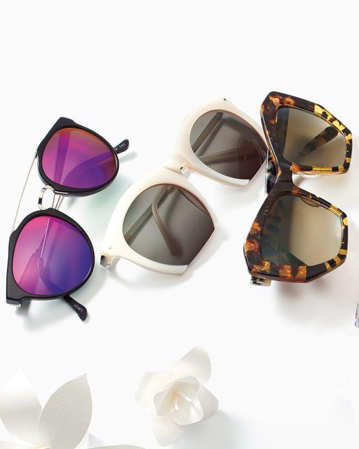 Prism   Natural Brazilia Angular Sunglasses   Lyst
