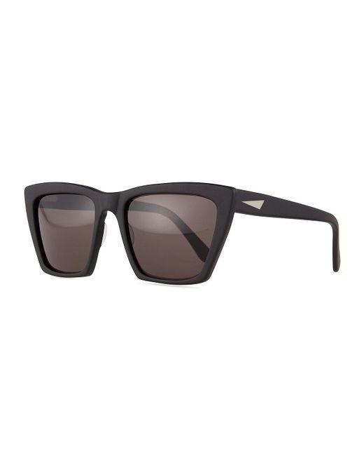 Prism | Black Sydney Square Cat-eye Sunglasses | Lyst