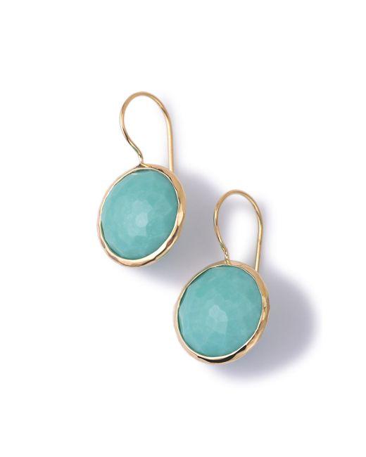 Ippolita | Blue 18k Gold Lollipop Drop Earrings | Lyst