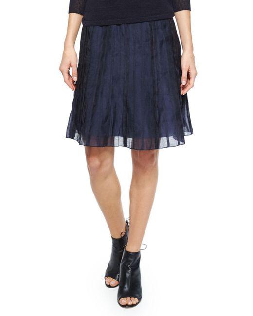 NIC+ZOE   Blue Fluttery Batiste Flirt Skirt   Lyst