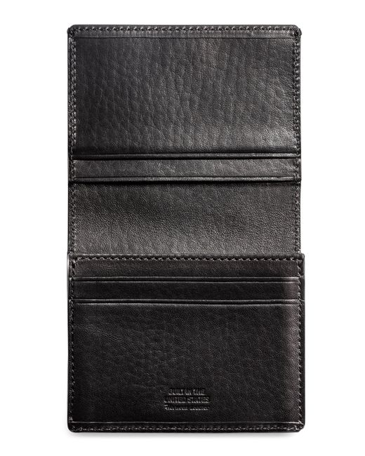 Shinola | Black Leather Gusseted Card Case | Lyst