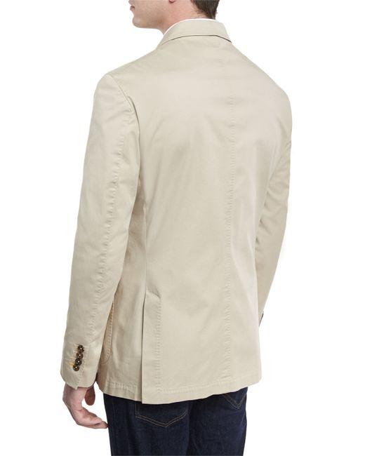 Robert talbott two button jacket in multicolor for men lyst for Robert talbott shirts sale