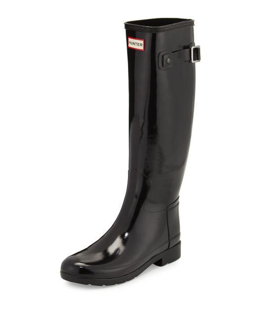 Hunter | Brown Original Refined Gloss Rain Boot | Lyst