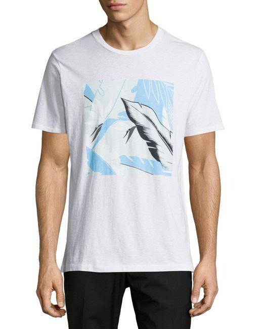 Rag bone hawaiian tropical print graphic t shirt in for T shirt printing hawaii