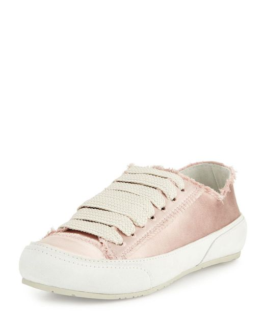 Pedro Garcia   Multicolor Parson Satin Low-top Lace-up Sneaker   Lyst