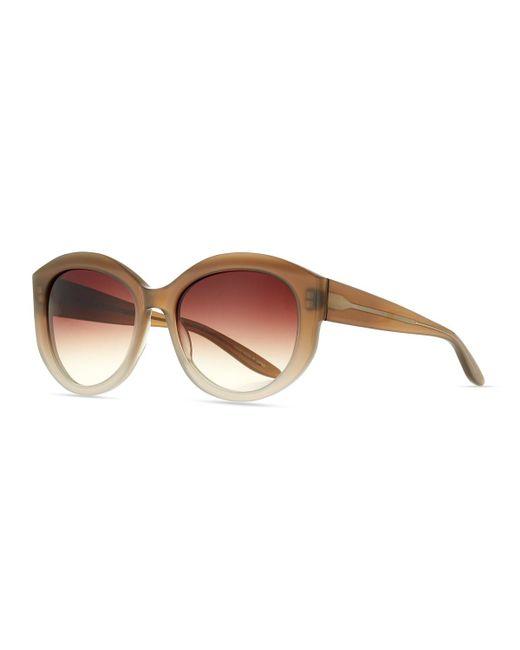 Barton Perreira | Brown Patchett Gradient Sunglasses | Lyst