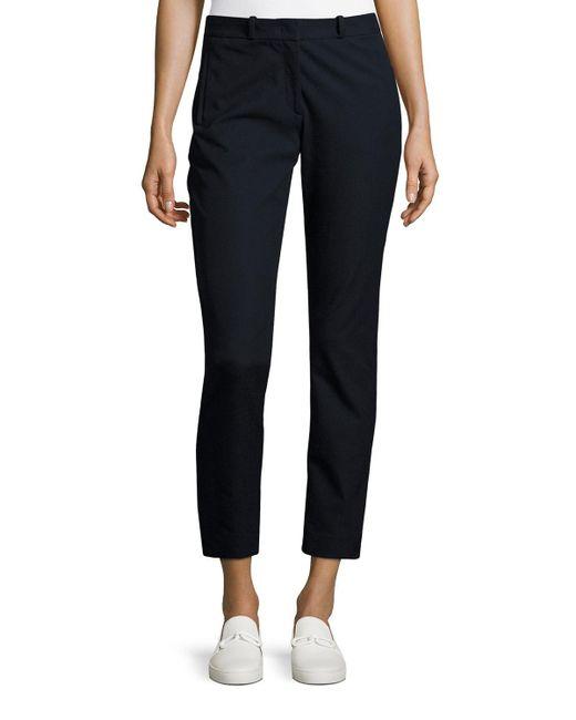 Joseph | Blue Eliston Gabardine Trousers | Lyst