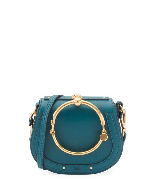 Chloé | Blue Nile Small Bracelet Crossbody Bag | Lyst