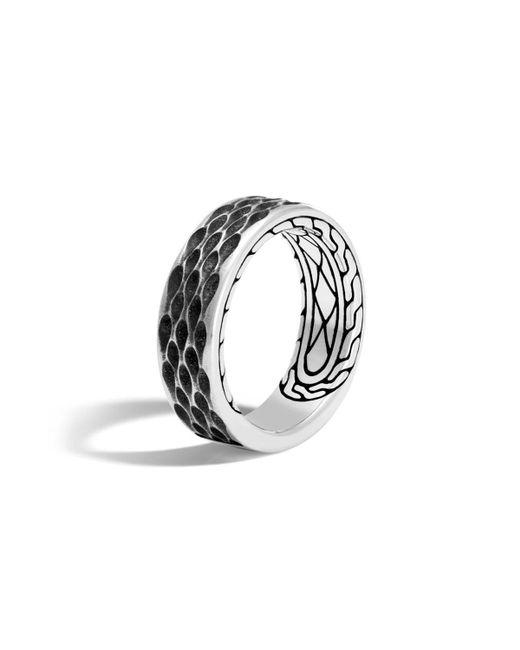 John Hardy - Metallic Men's Legends Naga Dragon Sterling Silver Band Ring - Lyst