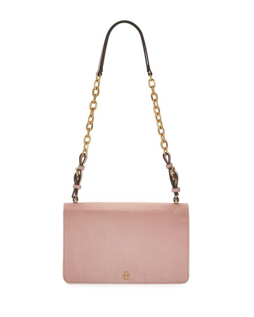 Tory Burch | Multicolor Sadie Velvet Chain Shoulder Bag | Lyst