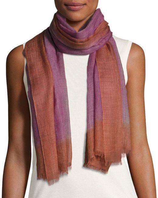 Bajra | Gray Wool-blend Lightweight Scarf | Lyst
