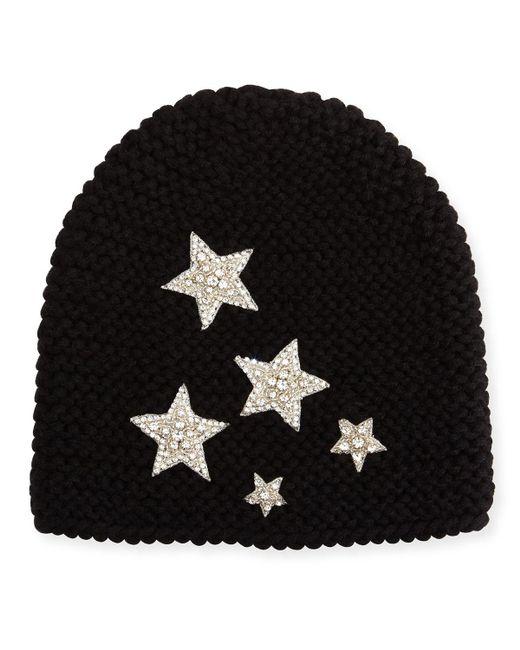 Jennifer Behr | Black Galaxy Beanie Hat | Lyst