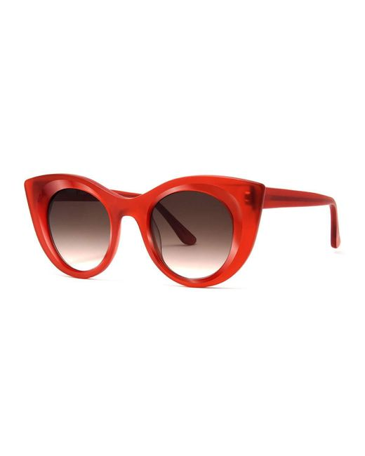 Thierry Lasry | Red Hedony Cat-eye Acetate Sunglasses | Lyst