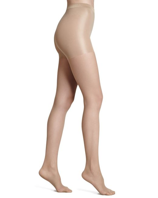 Wolford | Natural Individual 10 Soft Control Top Tights | Lyst