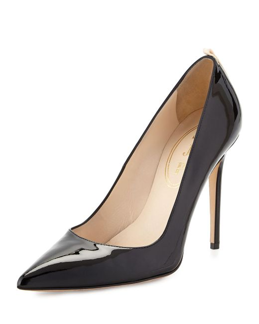 SJP by Sarah Jessica Parker | Pink Fawn Satin Pointed-toe 100mm Pump | Lyst