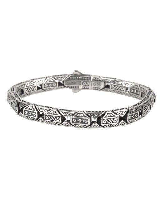 Konstantino   Metallic Men's Aeolus Athena Sterling Silver Bracelet   Lyst
