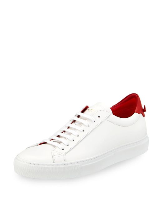Givenchy - Black Men's Urban Street Leather Low-top Sneakers for Men - Lyst