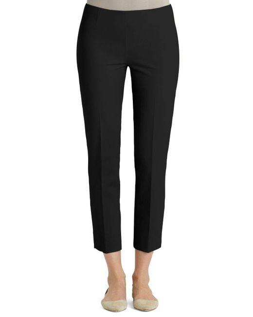 Lafayette 148 New York | Black Jodhpur Cloth Cropped Pants | Lyst