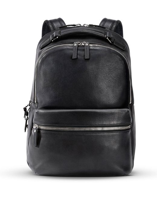 a47367bf2159 Lyst - Shinola Men s Runwell Leather Backpack in Black for Men - Save 7%